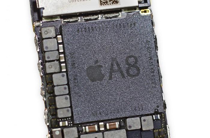 SOC Apple A8 (Autor: iFixit)