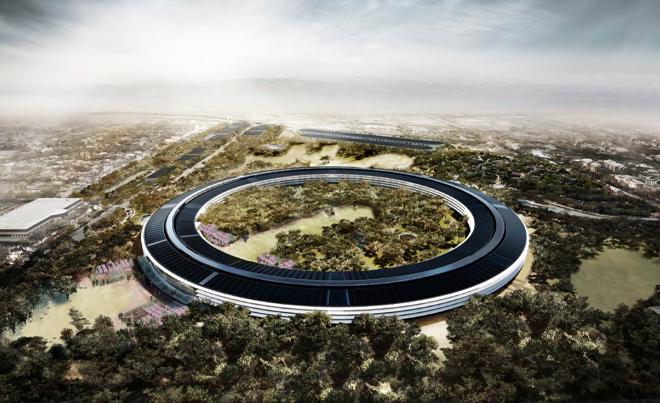 Takto by malo vyzerať nové sídlo Applu. Spoločnosť si k nemu vybuduje aj novú solárnu elektráreň