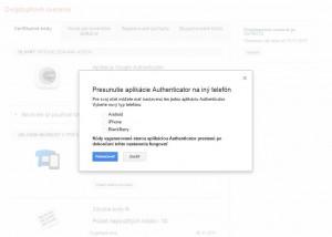 Verifikácia v dvoch krokoch v službe Google