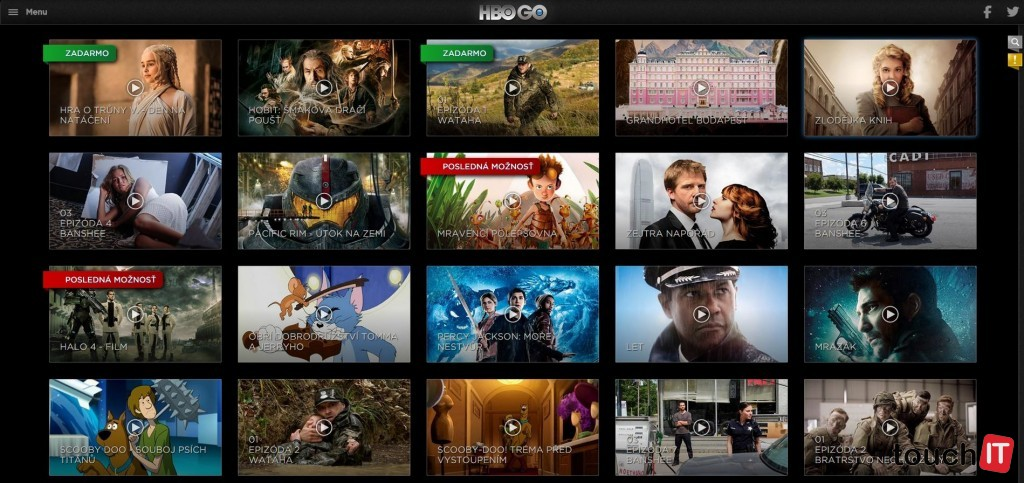 HBO Go je momentálne najlepšou VOD službou. Je škoda, že nie je dostupná samostatne a neponúka plnohodnotný HD obsah ako TV kanál HBO