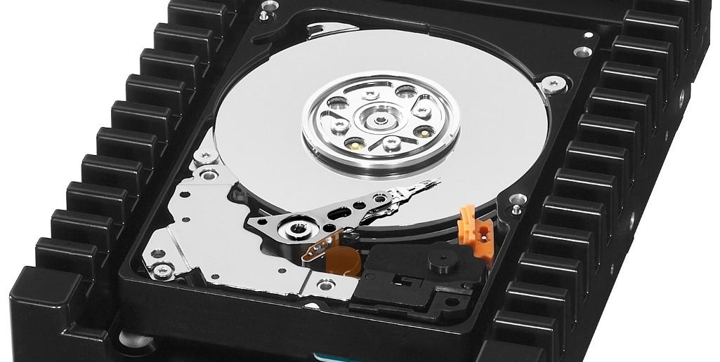 WD VelociRaptor - Pevný disk s 10 000 otáčkami za minútu.