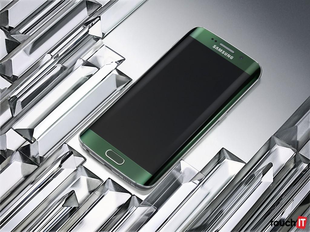 Galaxy S6 edge_Green Emmerald_Art Photo