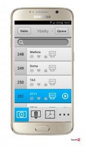 M-GScreen - Kanaly na zobrazenie