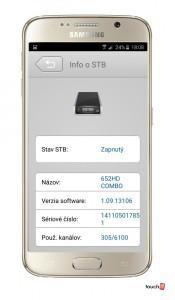 M-GScreen3 Info o pristroji