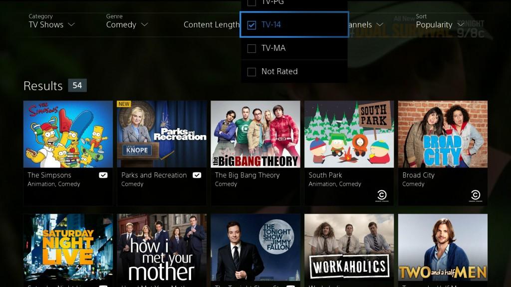 Takéto filtrovanie obsahu v TV archíve je u nás hudbou budúcnosti (Autor: Gizmodo)