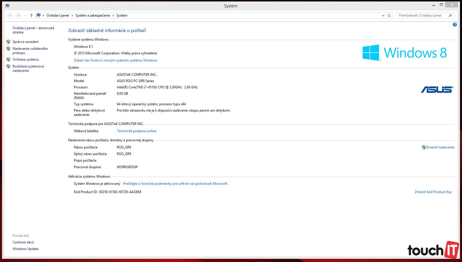 c8bc425d4 Test touchIT: ASUS ROG GR8 je najmenší herný počítač | TOUCHIT