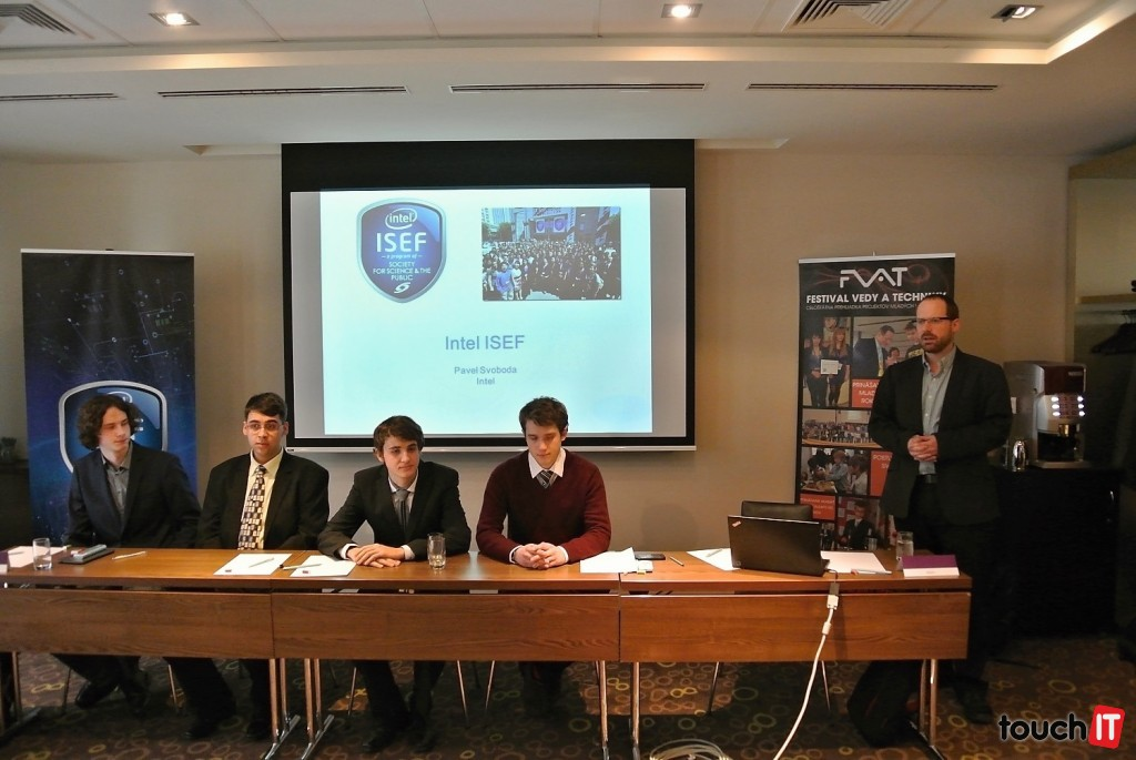Slovensko budú na Intel ISEF reprezentovať 4 študenti. Hovorí Pavel Svoboda zo spoločnosti Intel