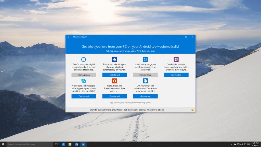 Nemáte Windows telefón? Nevadí, stiahnite si tieto aplikácie, aby ste získali čo najlepšie prepojenie s vašim PC so systémom Windows 10