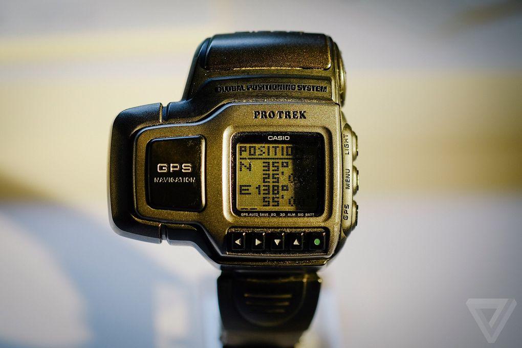 PRT-1GP z roku 1999 boli prvým modelom hodiniek so zabudovaným GPS snímačom 92d946526e