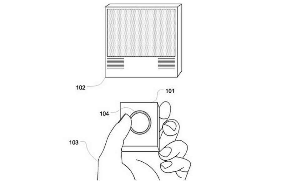 Ilustračný obrázok z patentu spoločnosti Apple