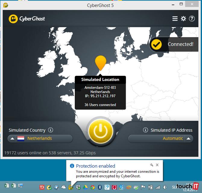 Cyberghost download