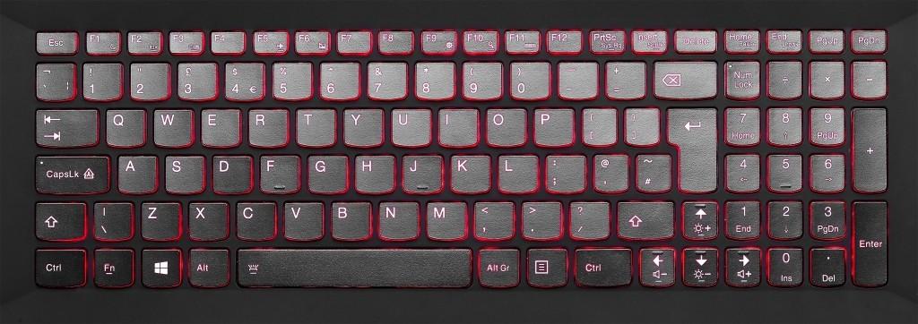 Klávesnica použitá v notebookoch Lenovo Y50 a Y70