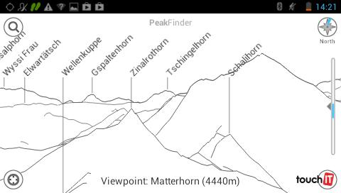 Aplikáciu PeakFinder využijete na vyhľadanie názvu neznámeho kopca