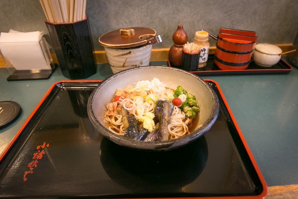 Môj obed v tradičnej japonskej vývarovni