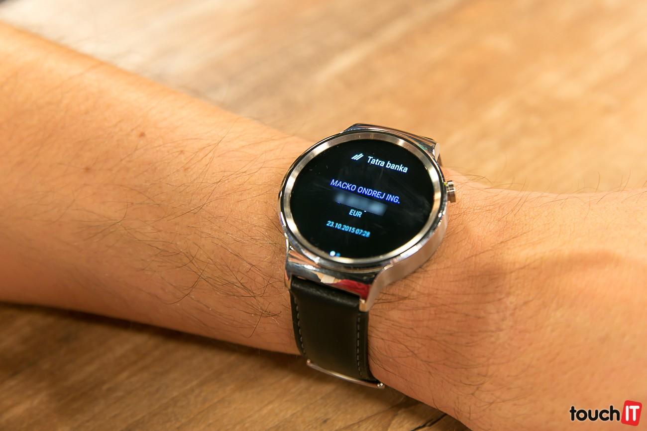 Testovali sme hodinky Huawei Watch (doplnené o video)  519e9a89250