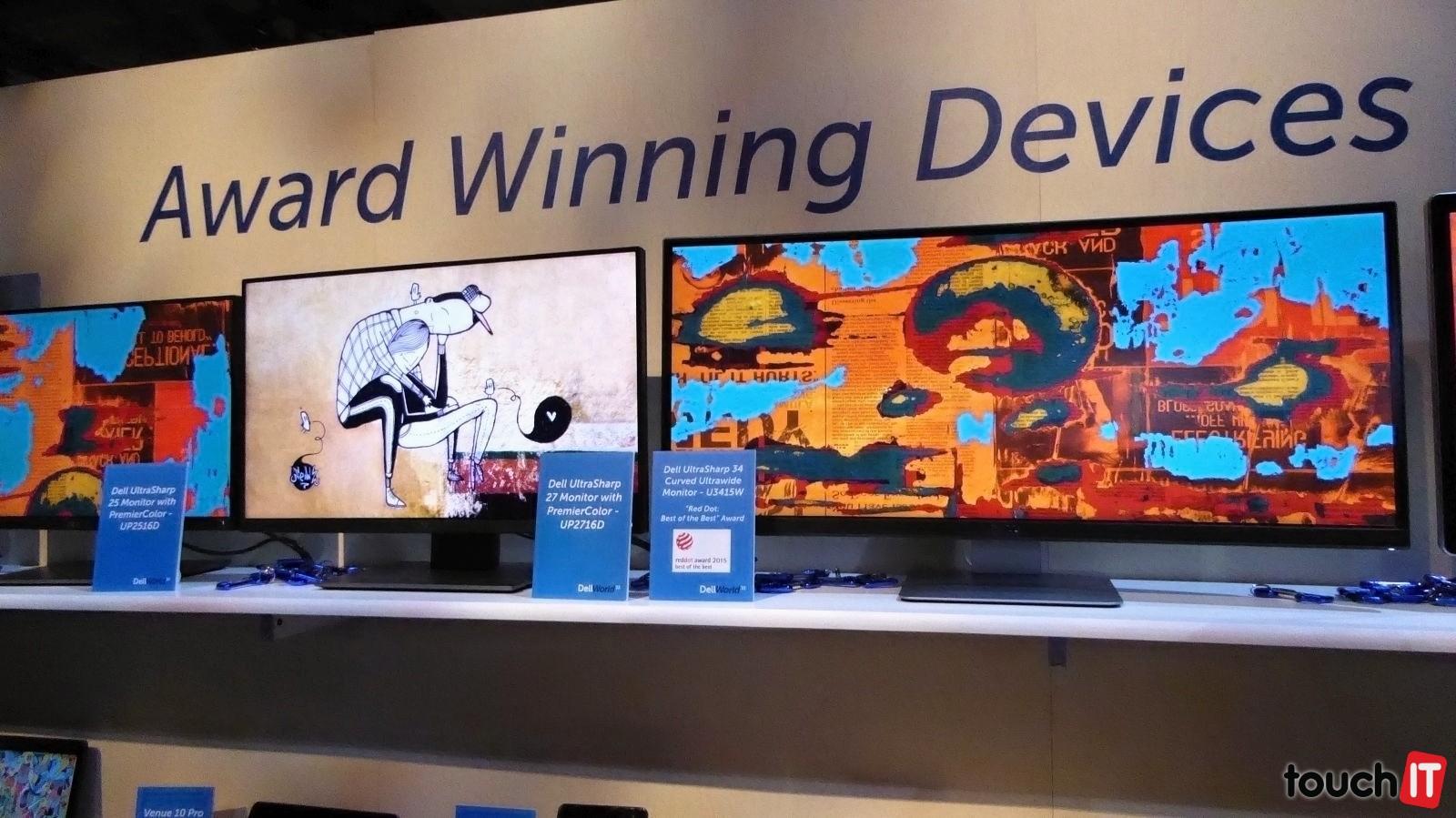 Dell monitory