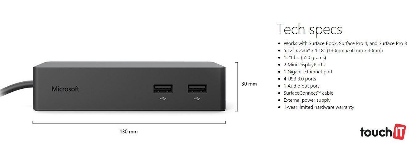 Dokovateľná stanica premení Surface Book na váš domáci počítač v priebehu pár sekúnd