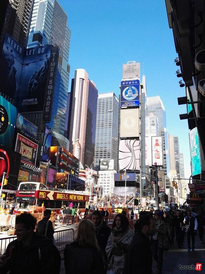 Times Square cez deň ...