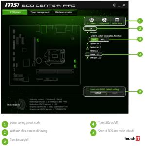 MSI-eco-center-pro