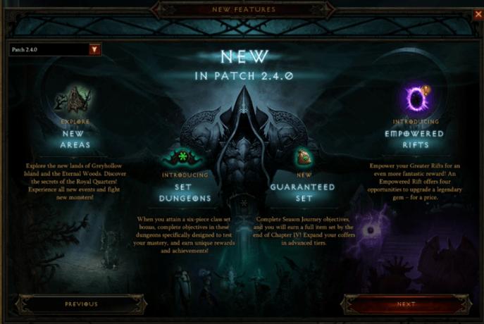 Diablo III a novinky vo verzii 2.4.0. Snímka: Diablo Hub