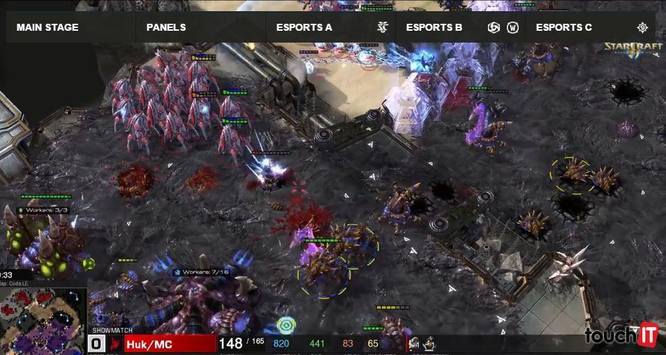 Počas BlizzConu prebiehajú majstrovstvá sveta v hraní hier od Blizzardu. Priamy prenos môžete sledovať cez internet