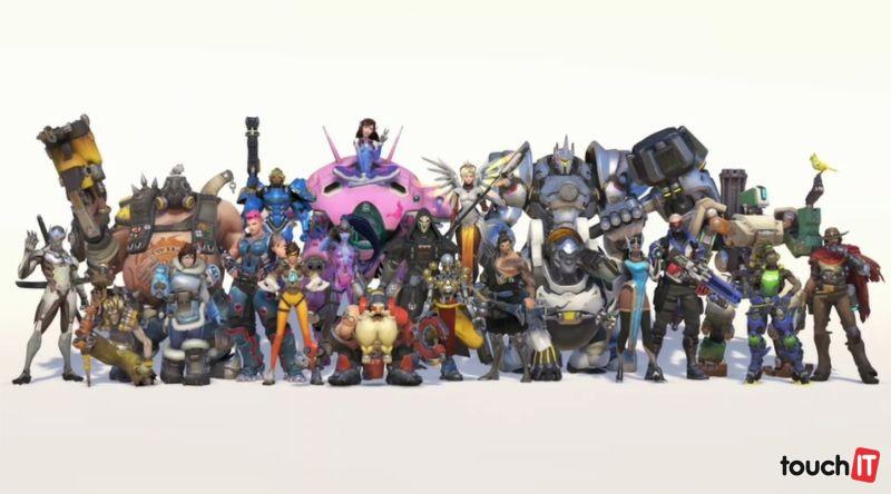 Hrdinovia z pripravovanej hry Overwatch