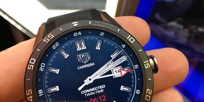 Na prvý dotyk  Inteligentné hodinky TAG Heuer Connected so systémom Android  Wear 20a48c4864c