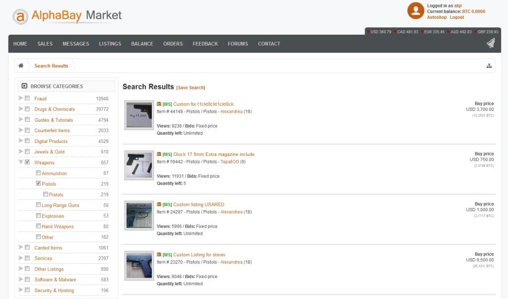 AlphaBay je dnes najpopulárnejším čiernym trhom darkwebu