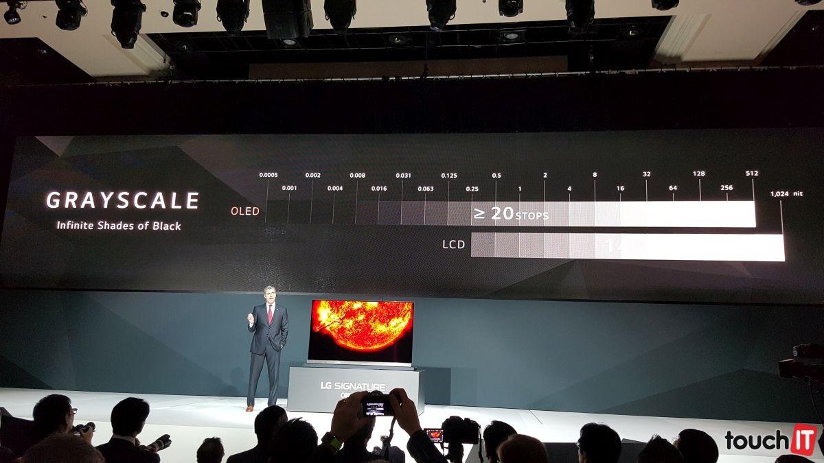 LG sa chváli zobrazením čiernej farby