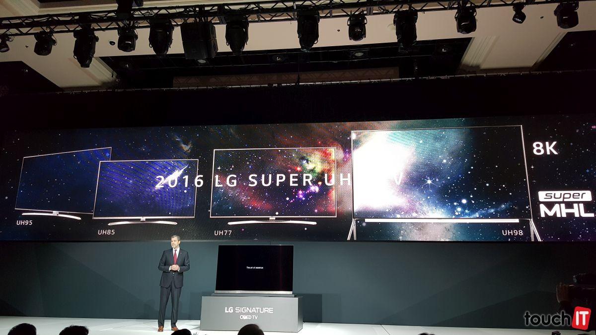 LG vyrobilo televízor s rozlíšením 8K