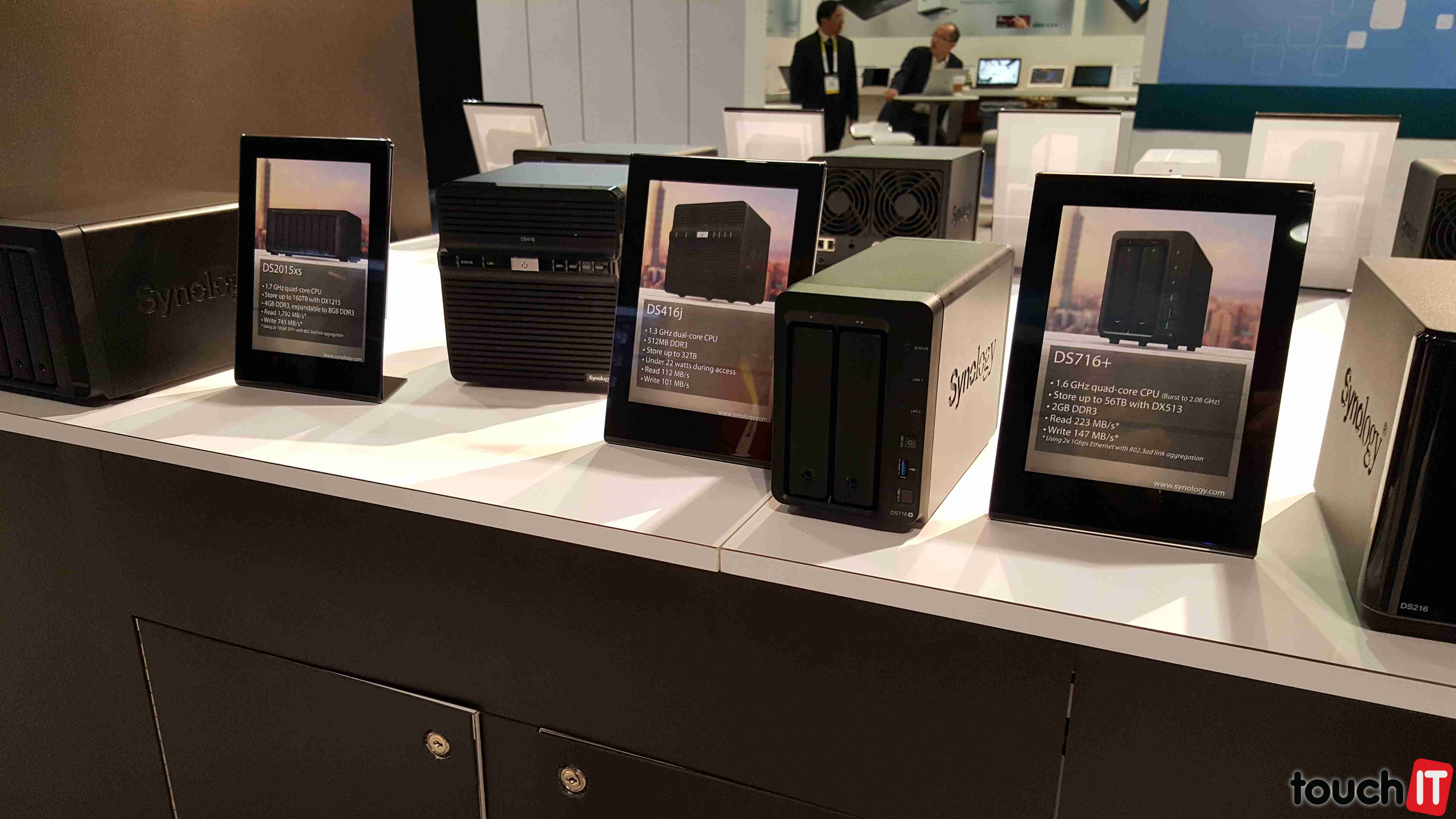 VIDEO touchIT: Synology na výstave CES 2016 – router