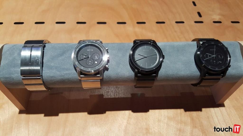 Na hodinky Wena sa tešíme. Sú analógové, avšak majú inteligentný remienok. Cenu ani dostupnosť zatiaľ nepoznáme