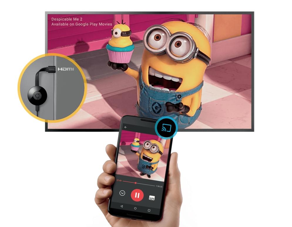 Chromecast využijete najmä na prehrávanie obsahu z internetu. S trochou šikovnosti doň pošlete aj lokálny obsah