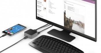 Malá dokovacia stanica Microsoft Display Dock umožní používať vybrané telefóny so systémom Windows 10 v režime počítača