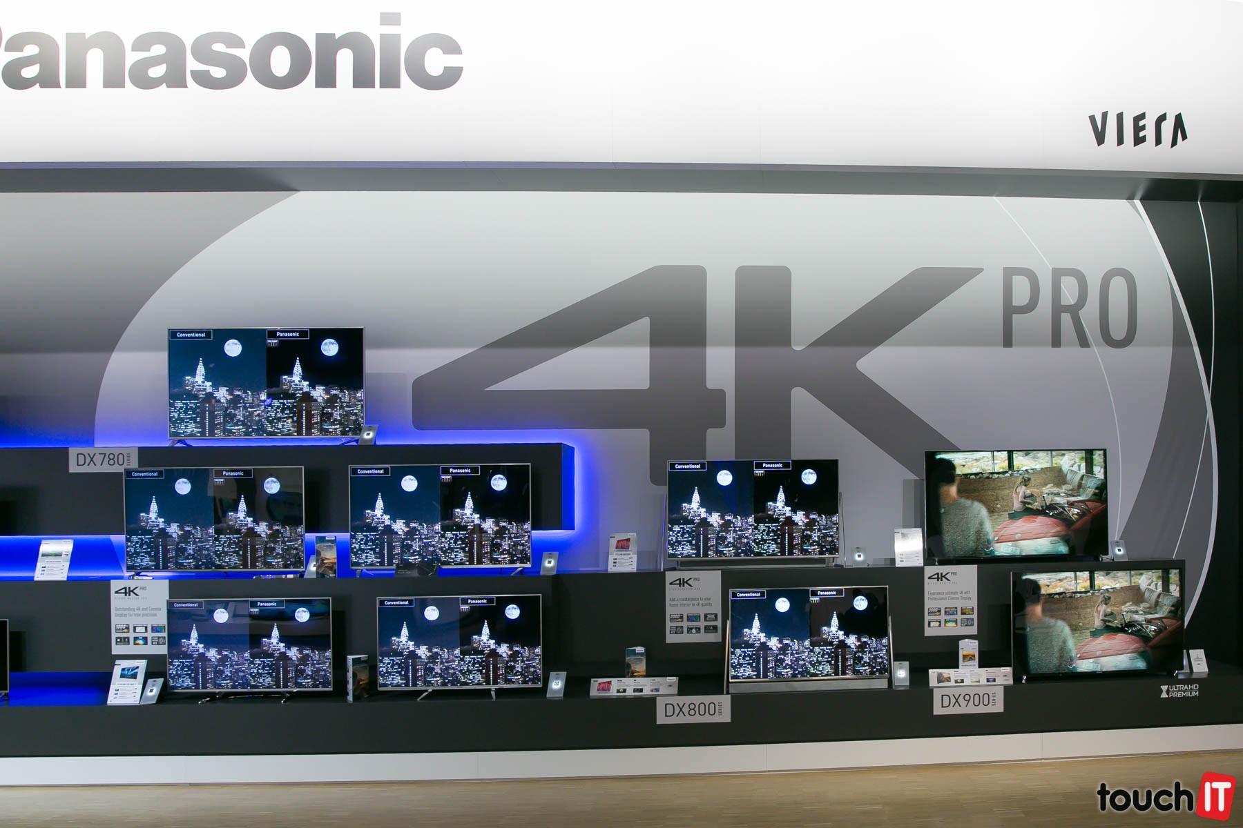 cda109780 Vlajková loď v rodine Panasonic TV: DX900 s rozlíšením 4K, posilnený  dynamický rozsah (HDR) a vylepšené inteligentné funkcie
