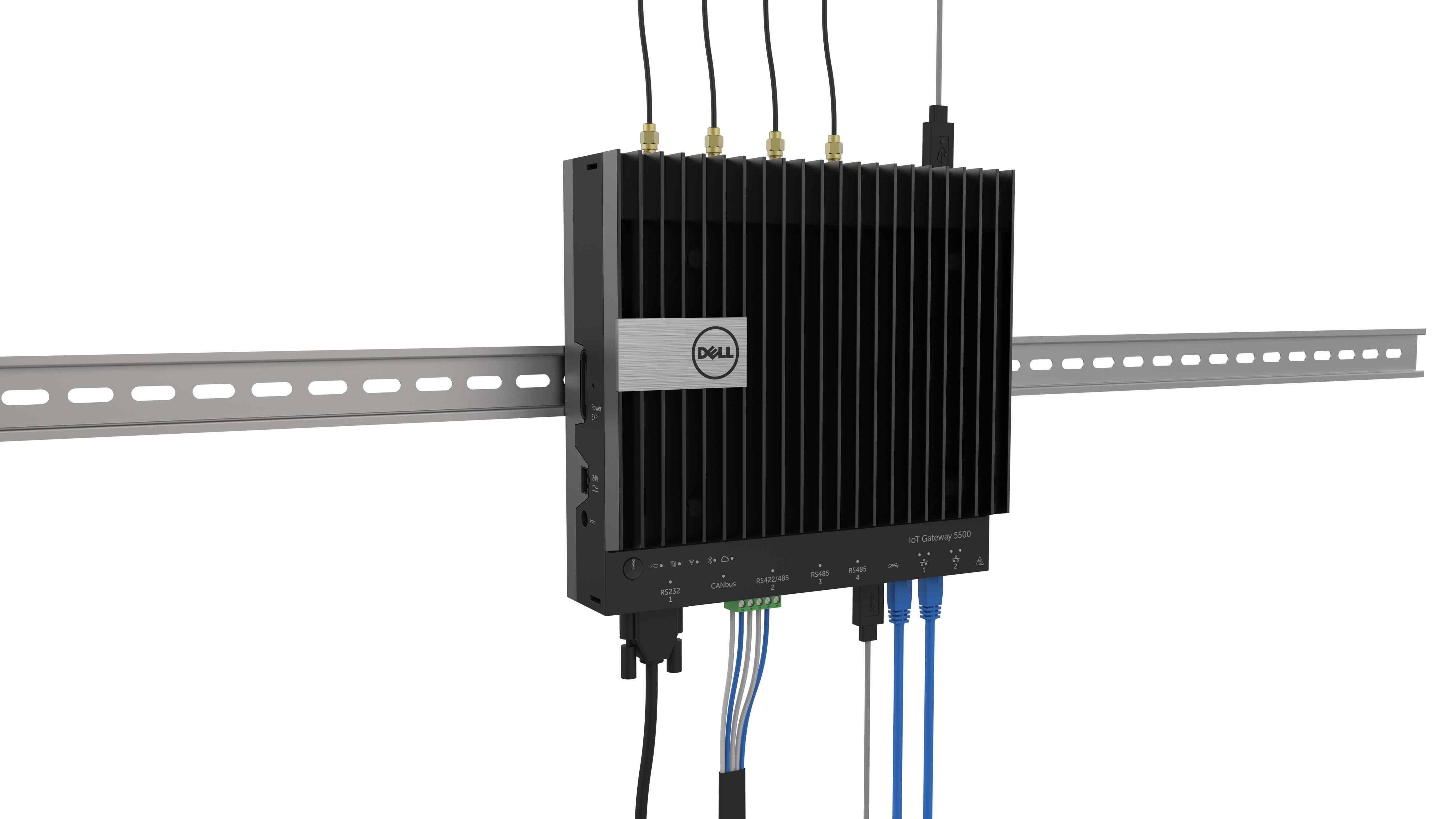 Pripojené senzory a zariadenia dokážu v priemysle vygenerovať veľké množstvo dát. Nie všetky sú dôležité, Dell Edge Gateway 5000 funguje ako filter. Prepustí len dôležité informácie
