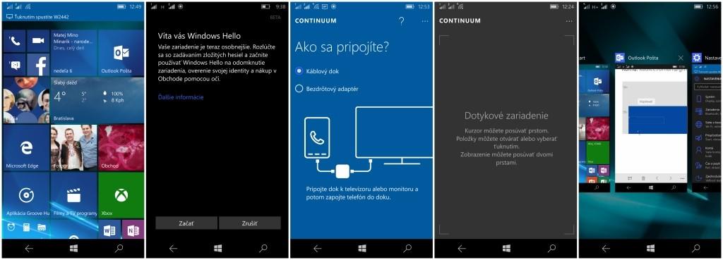 Windows 10 sa v porovnaní s Windows Phone zmenil iba kozmeticky