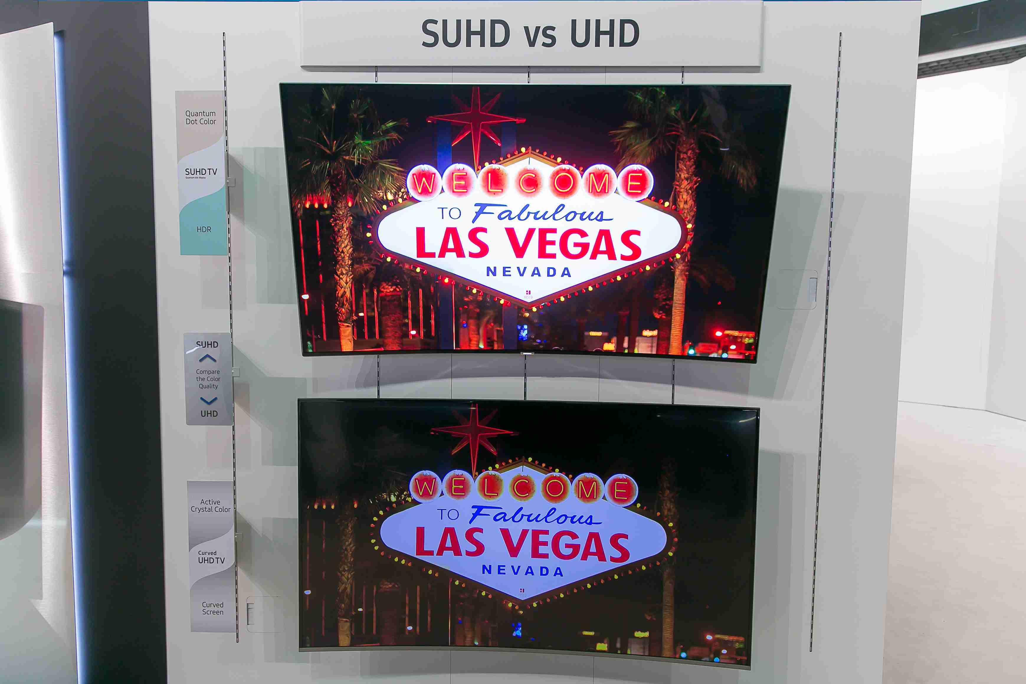 A tu zistíte, že nie je 4K ako 4K. Na hornom obrázku je obraz z televízora s podporou SUHD, dole s podporou klasického UHD