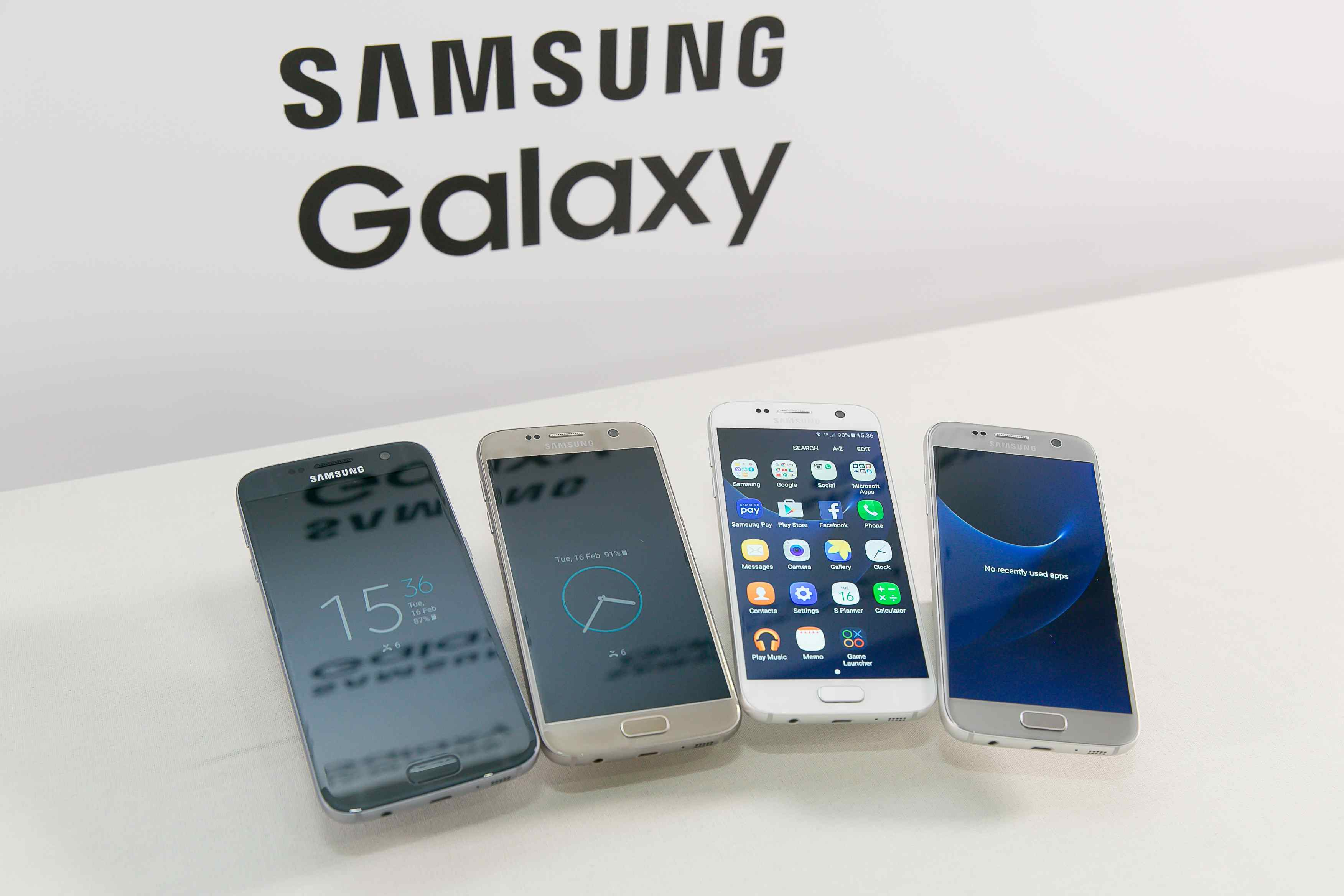 Galaxy S7 v rôznych farebných vyhotoveniach