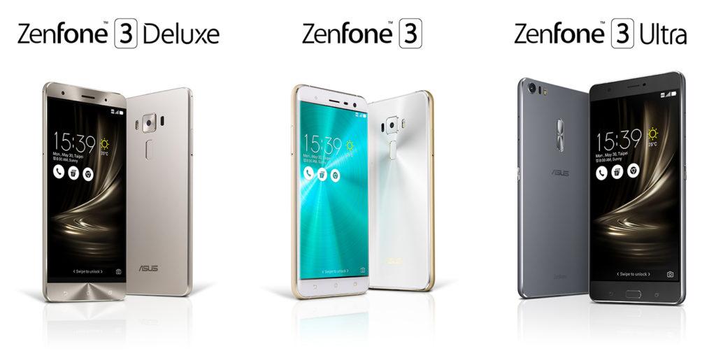 ASUS ZenFone 3 bude dostupný v troch prevedeniach