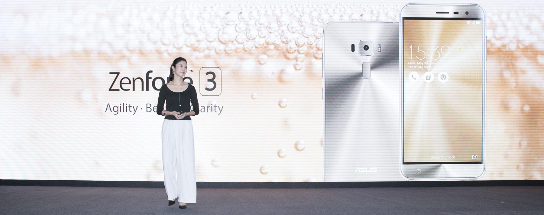 ASUS vývojárka Jen Chuang hovorí o efektnom vyhotovení telefónu ZenFone 3