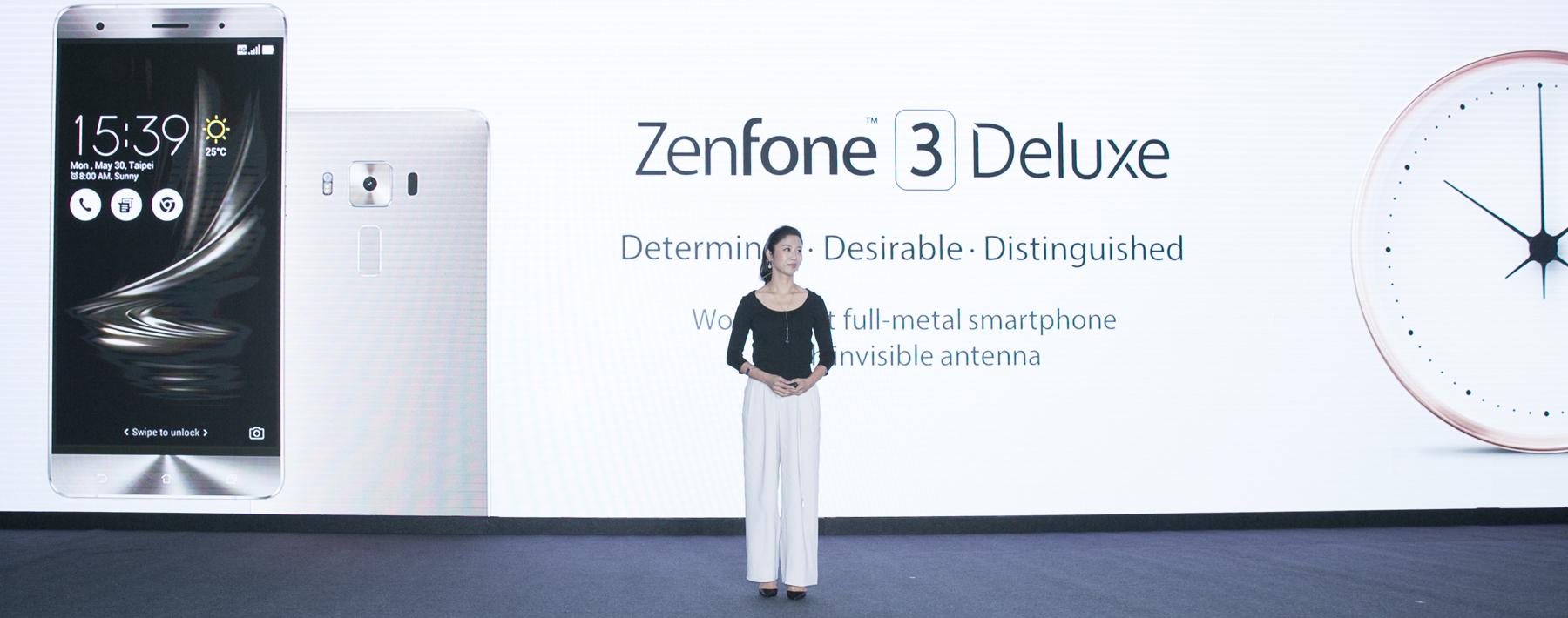 Zenfone 3 Deluxe je prvý unibody telefón bez viditeľných anténnych prúžkov na zadnej strane