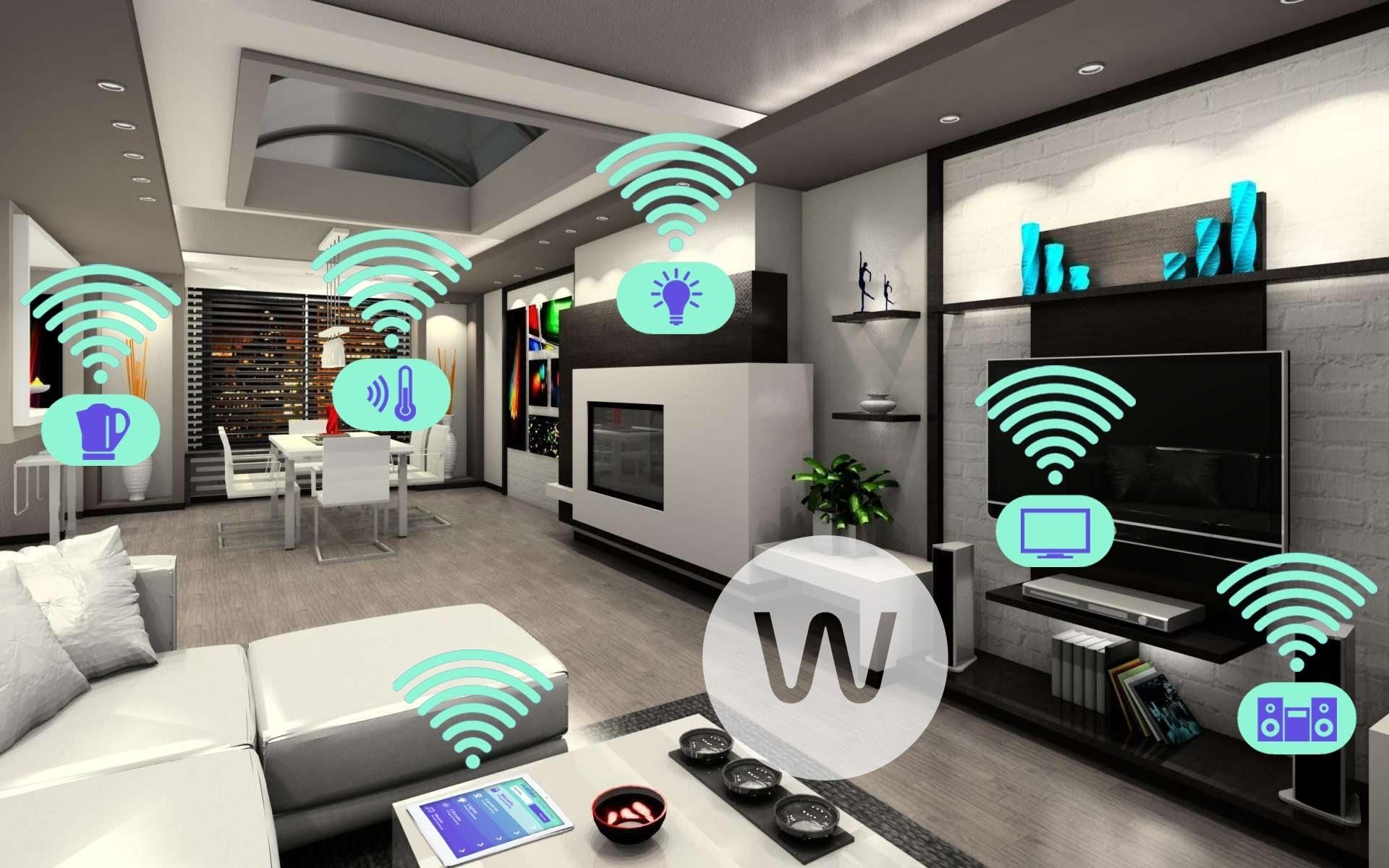V open office a jednej miestnosti domu sa rýchle 60 GHz Wi-Fi budú presadzovať čoraz viac