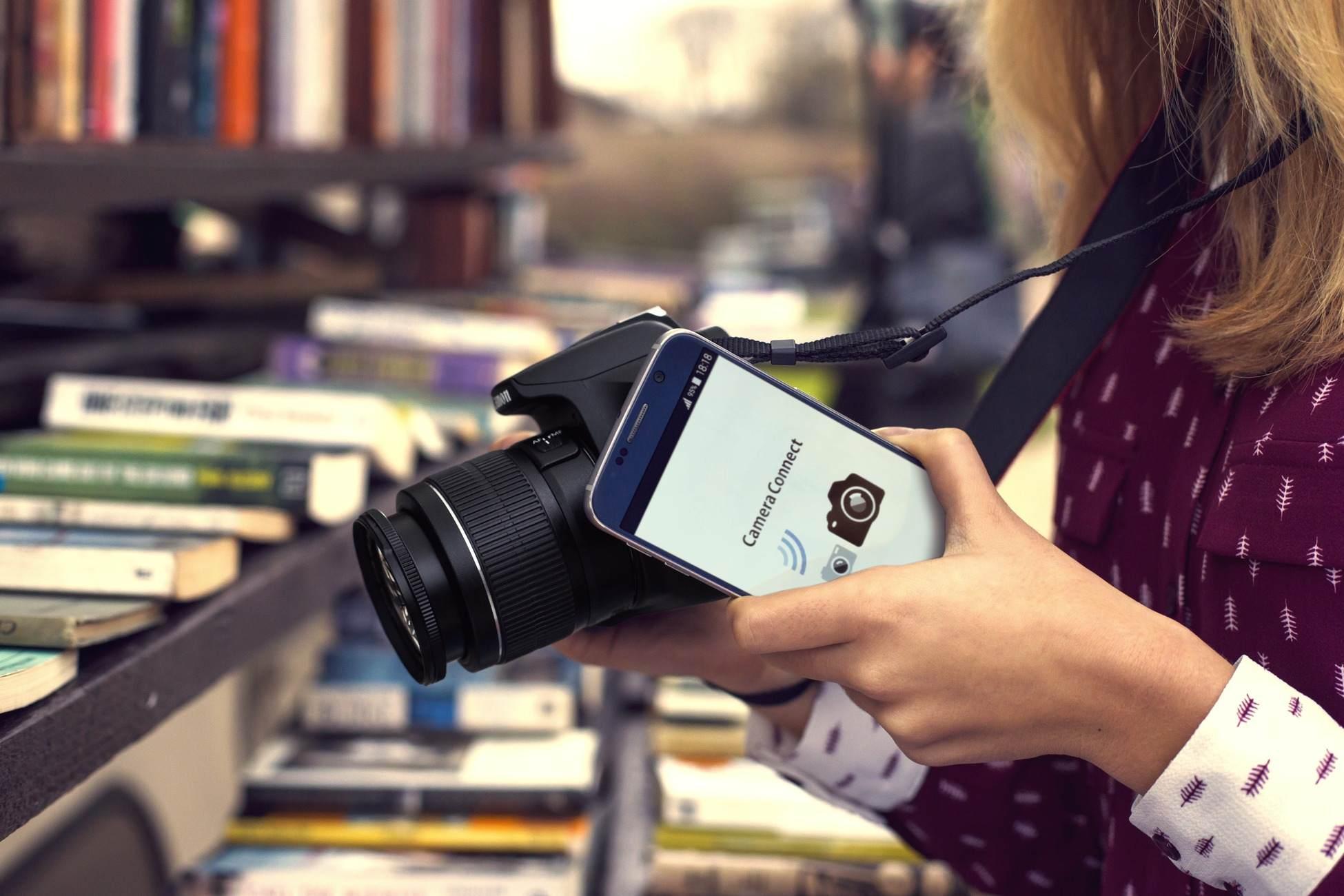 Takto sa prepoja fotoaparát a smartfón s využitím NFC