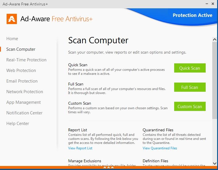 AdAware Free Antivirus+ ako vyššia trieda základného antivírusu