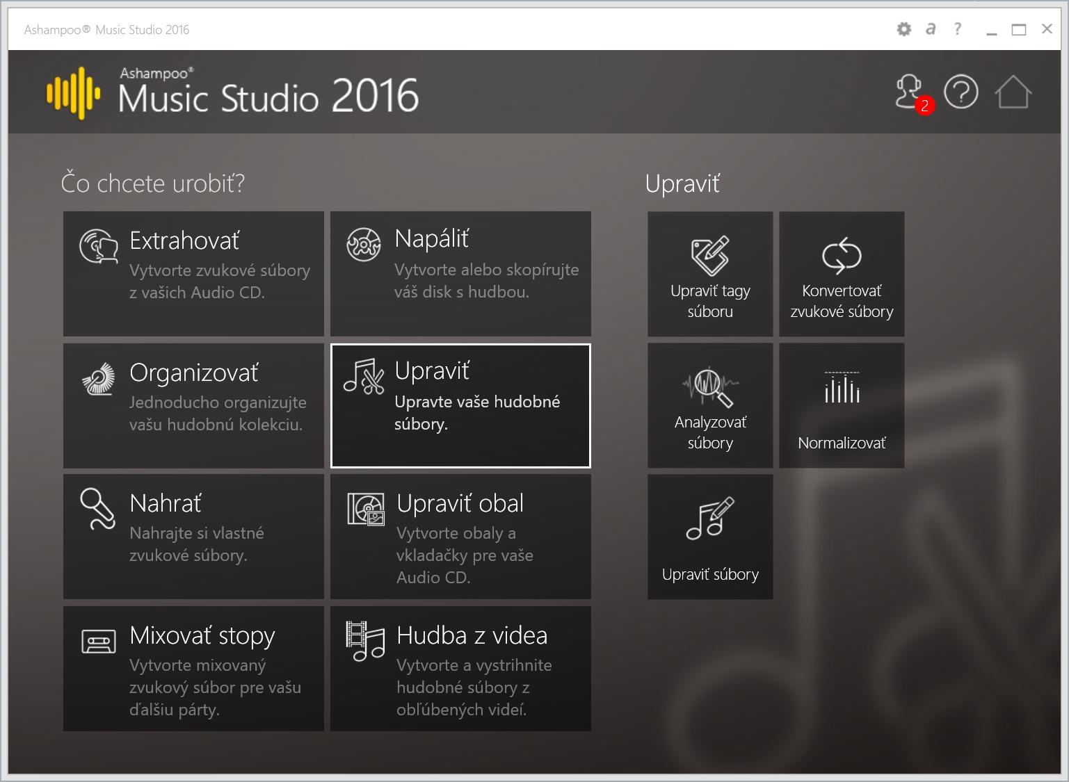 Ashampoo Music Studio 2016 na rýchle úpravy zvuku bez profesionálnych znalostí