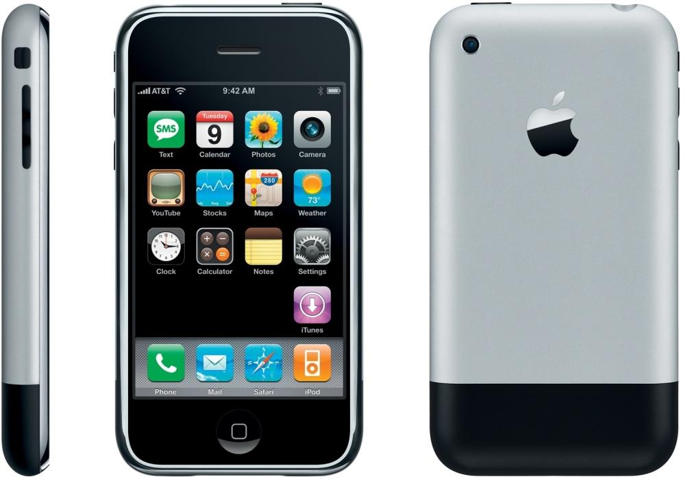 Prvý model iPhonu z roku 2007
