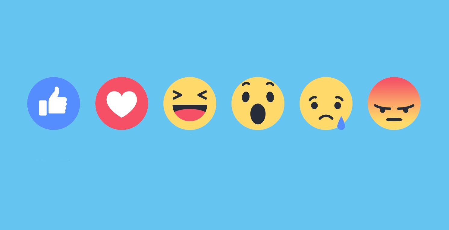 """Nové """"lajky"""" umožňujú vyjadriť svoju emóciu aj bez komentovania"""