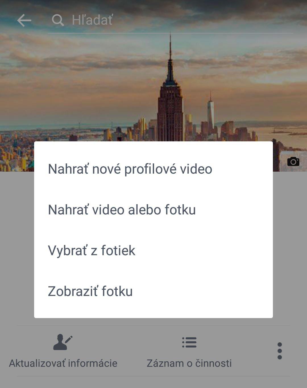 Na Facebooku môžete mať pohyblivú profilovku ako z Harryho Pottera. Umožňuje to nová funkcia profilové video