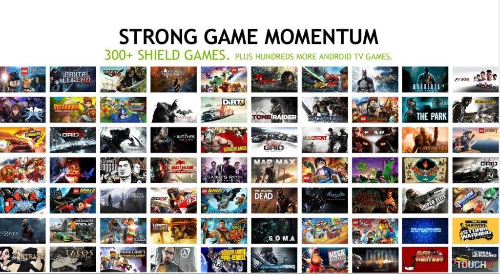 Zoznam hier, ktoré sú optimalizované pre SHIELD sa utešene rozrastá. Čoskoro ich bude viac ako 300, pribúdajú aj AAA tituly